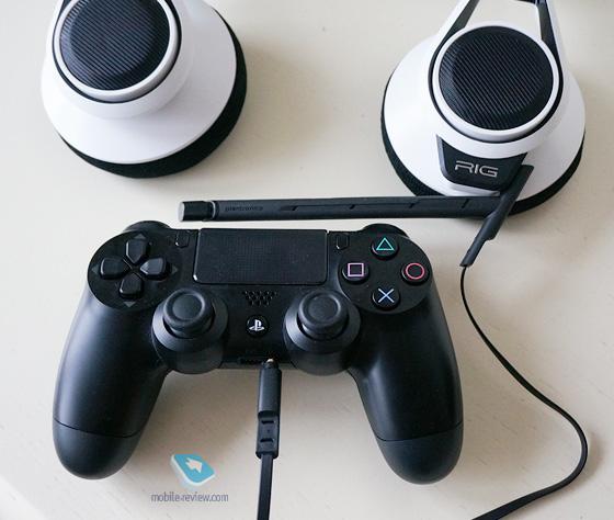 Подключить наушники playstation 4