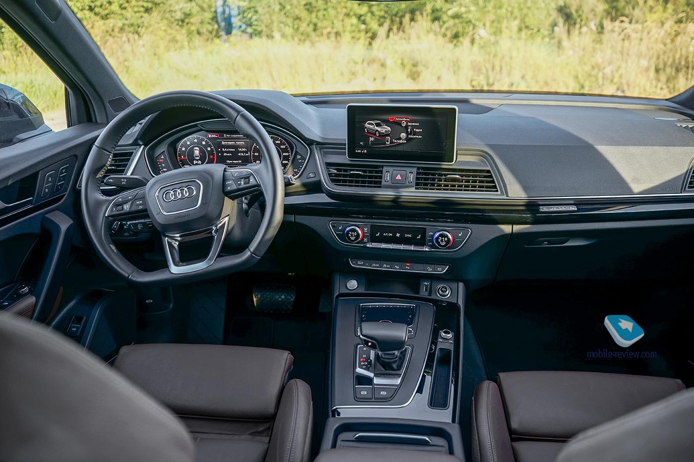 Тест Audi Q5 2021. Рестайлинг популярного SUV