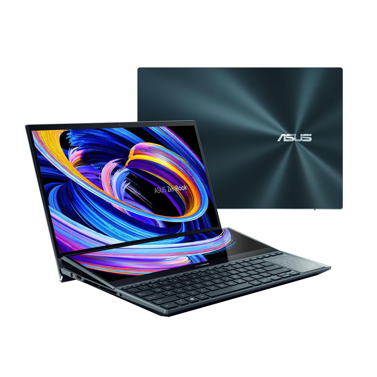 ASUS ZenBook ProDuo15OLED: RTX3070 и OLED-экран