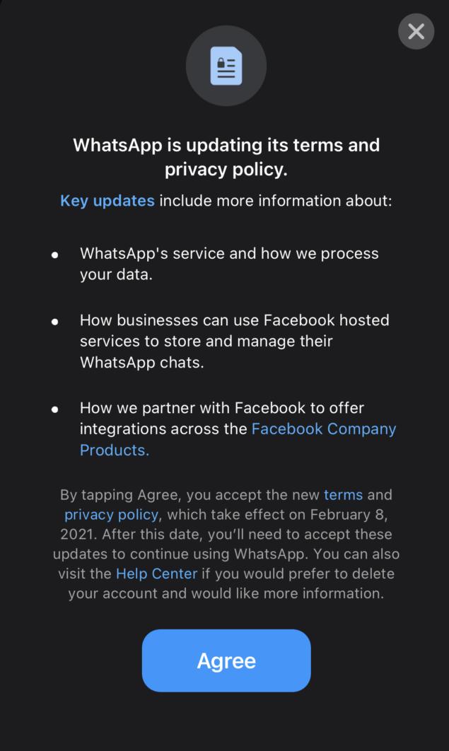 WhatsApp неудаляемый.