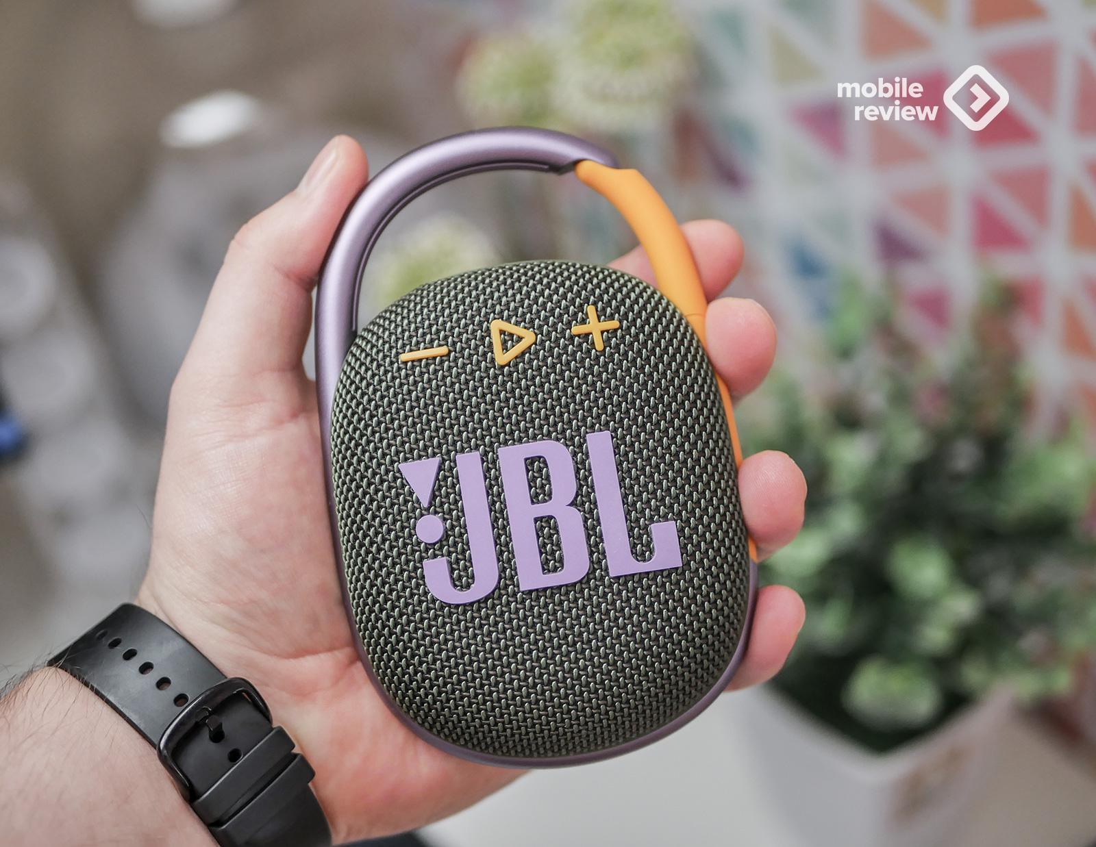 Обзор JBL Clip 4 – самая красивая компактная колонка