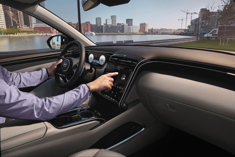 В России представили четвертое поколение HyundaiTucson