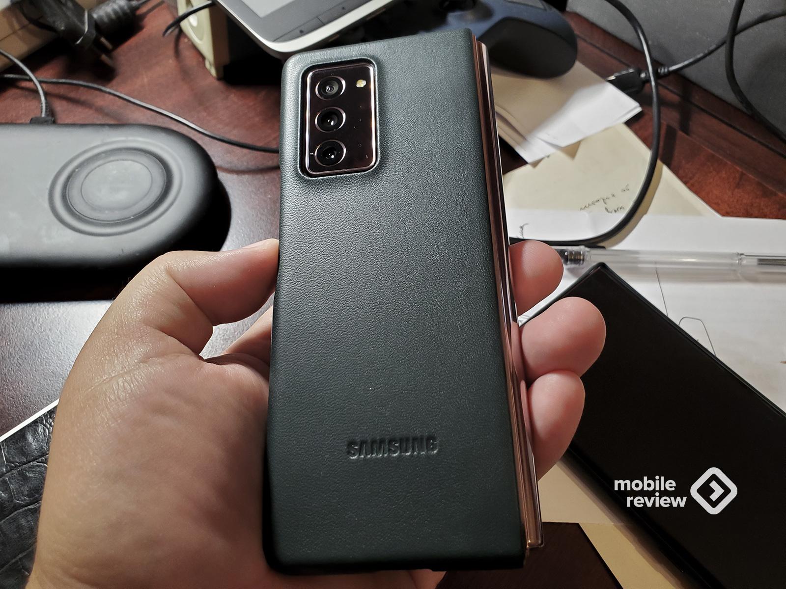 Опыт использования Samsung GalaxyZFold2. Плюсы и минусы