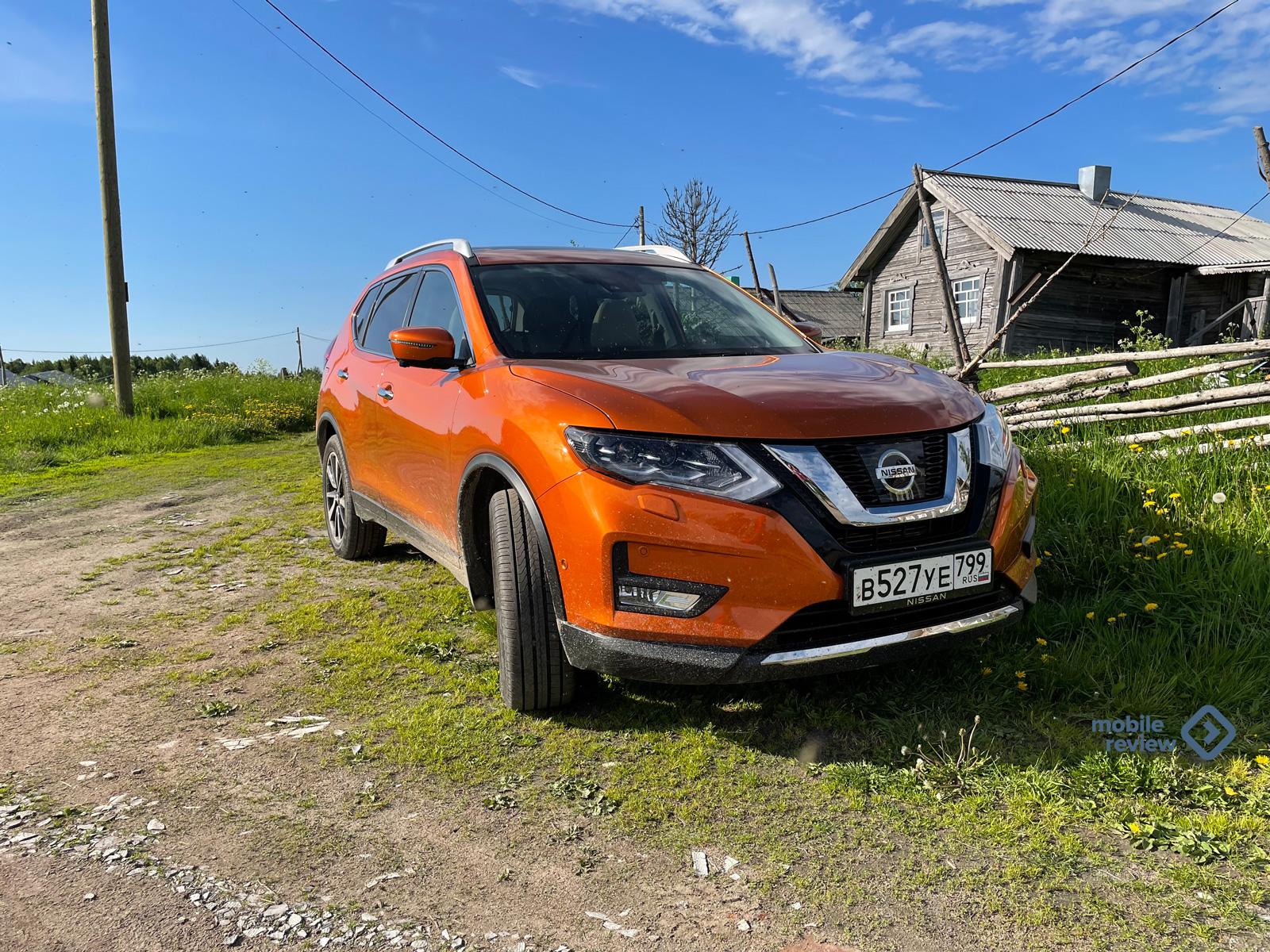 На Nissan в Карелию