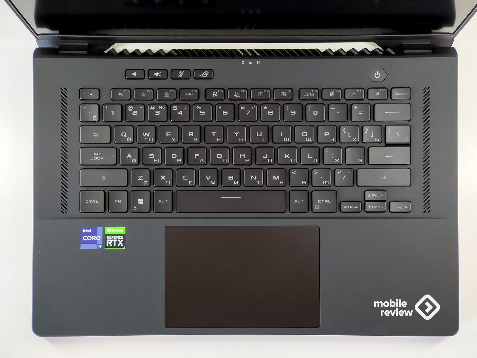 Обзор ноутбука ROG ZephyrusM16 (GU603)