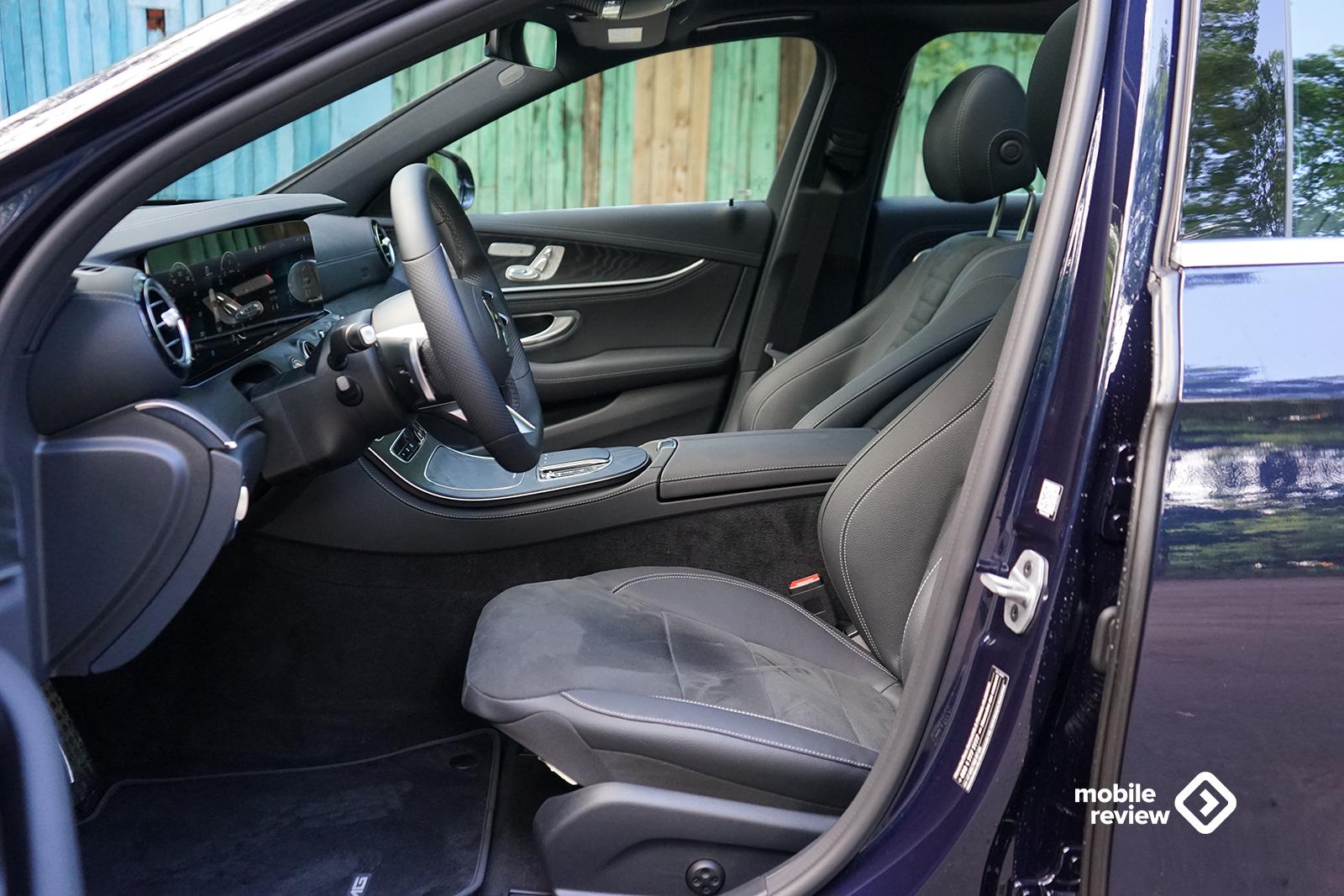 Тест Mercedes-Benz E-класс W213. Лучший премиальный седан?