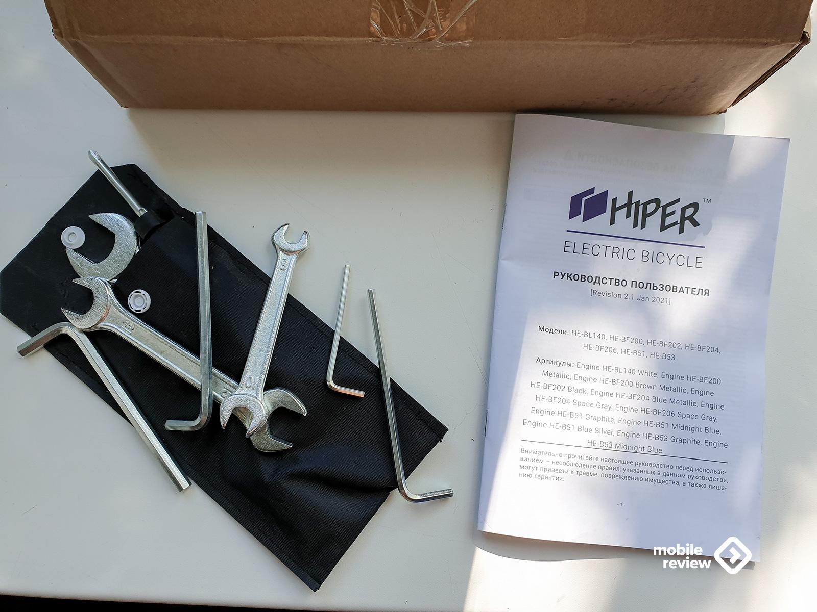 Hiper Engine BL140: почему электровелосипед лучше, чем электросамокат