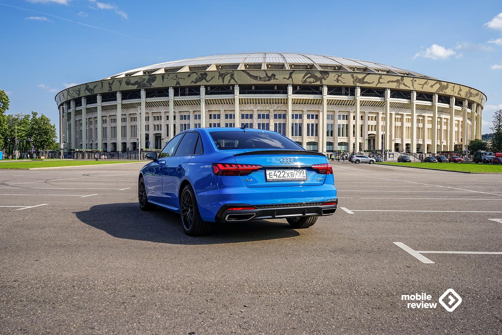 Тест Audi A4 2021. Сбалансированный седан.