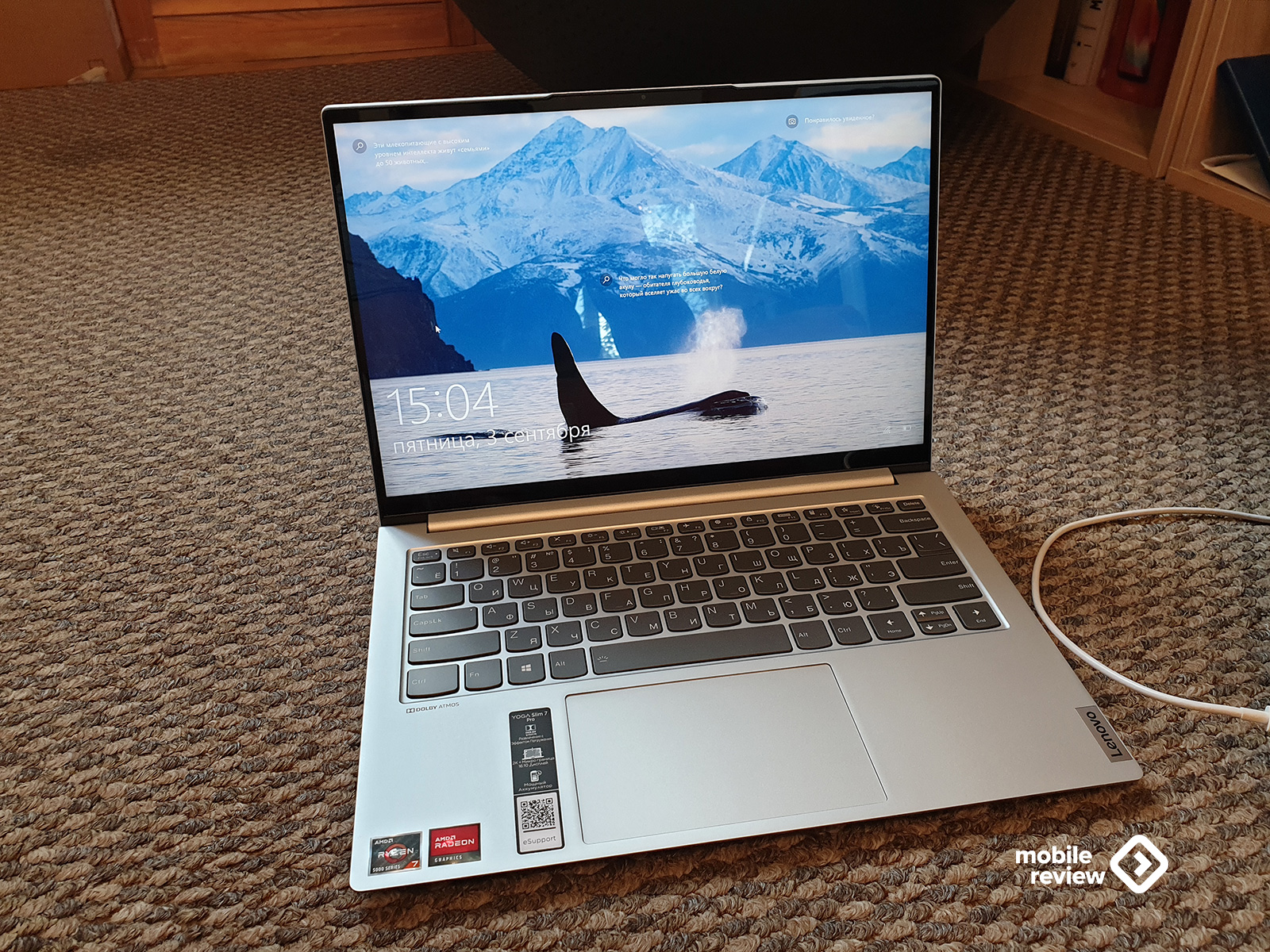 Обзор Lenovo YOGA Slim7Pro