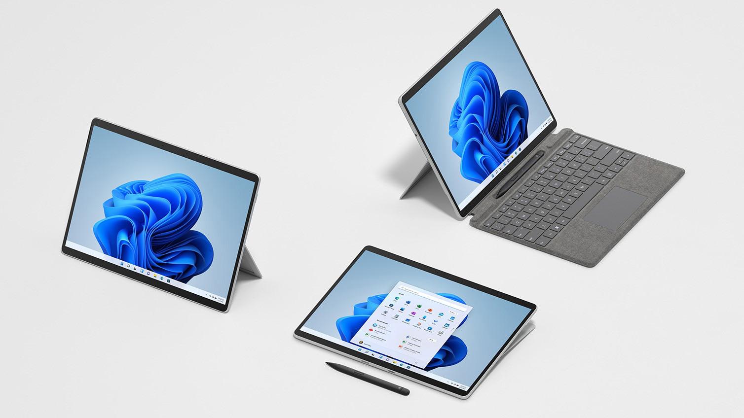 Отличие Surface Laptop Studio и Surface Pro 8 от ноутбуков других разработчиков (10 24)