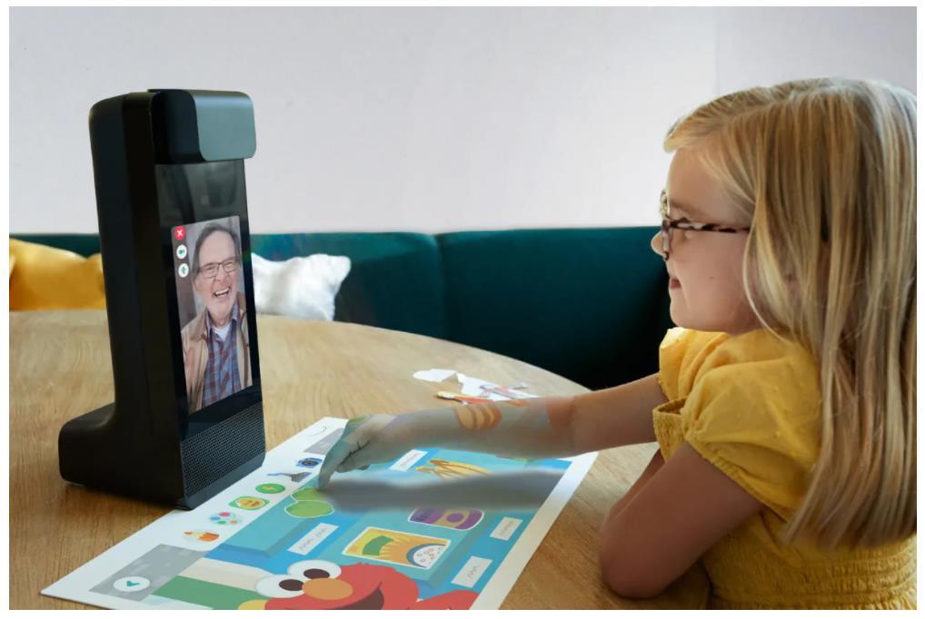Amazon Glow устройство для детских видеоконференций                Компания Amazon представила очень оригинальный продукт — Amazon Glow, который ориен...