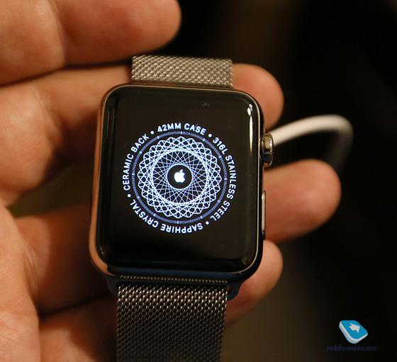 Эппл вотч часы браслет