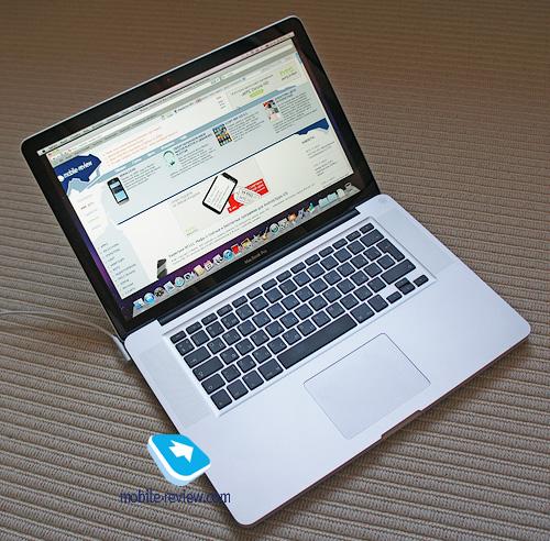 первое знакомство с macbook