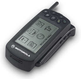 first motorola startac. technically, the startac clip-on organizer is first smartphone, or its prototype, for motorola \u2013 it was sought-after in us, whereas europe passed startac