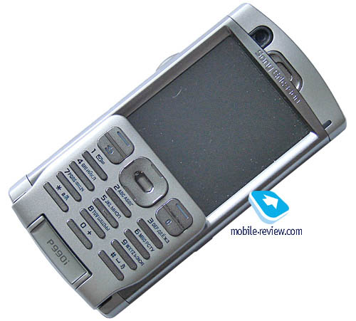 Leather case for sony ericsson p990i - open face