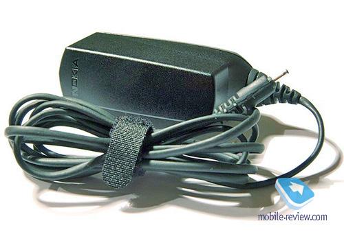 3. Оригинальное зарядное устройство NOKIA AC-4E.