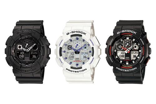 Часы Casio G-shock Ga-100 Инструкция - фото 7