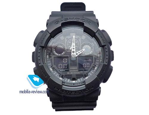 Часы Casio G-shock Ga-100 Инструкция - фото 10