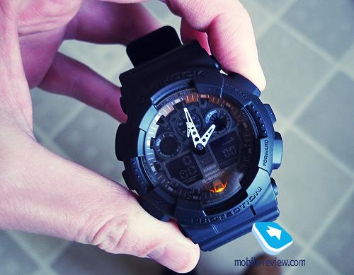 pobedpix.com / G-Shock GA-100 Подсветка