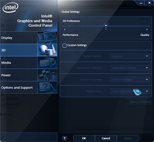 Intel Graphics Media Accelerator 4500mhd Driver Download