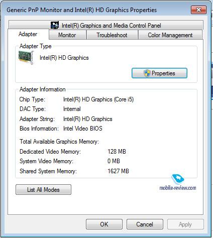 Acer Aspire 5745PG Intel Chipset Windows