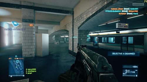Итак, в Battlefield3 добавили