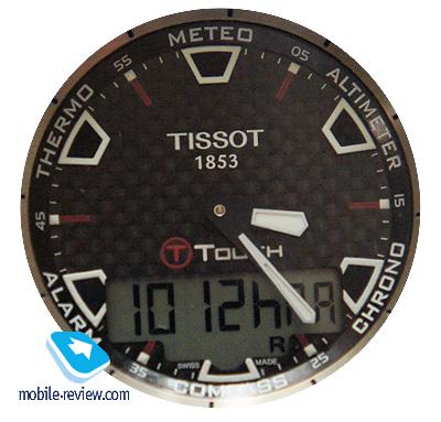 Обзор многофункциональных часов tissot t