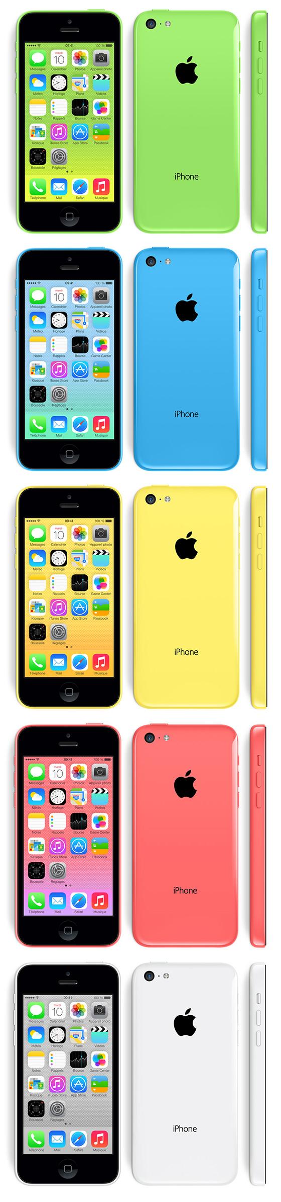 Какие цвета есть в айфоне 5s