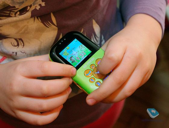 Детский телефон маячок