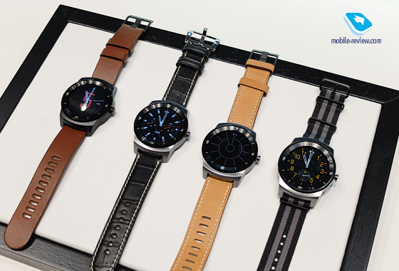 Mobile-review.com IFA 2014. Часы LG G Watch R