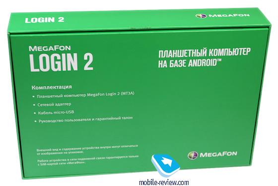 Megafon Login 2 Планшет Инструкция