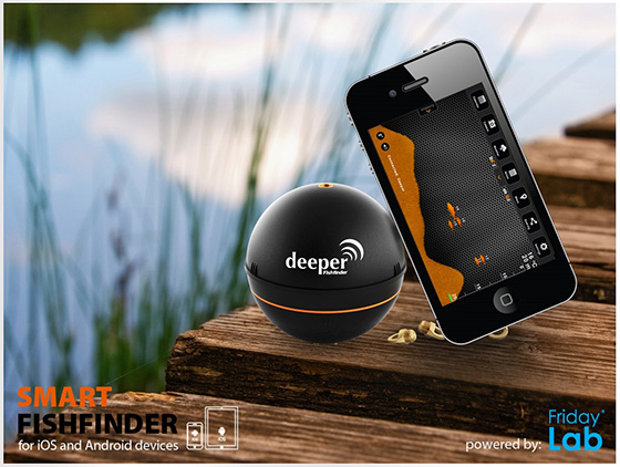 Mobile for Deeper fish finder review
