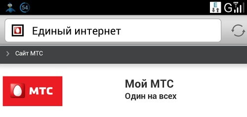 Mobile-review com МТС, Единый интернет