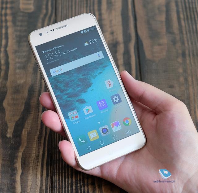 Mobile-review com LG X-серия  История о доступных смартфонах