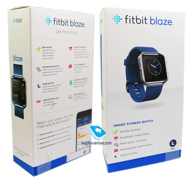 Fitbit Blaze инструкция на русском - фото 2