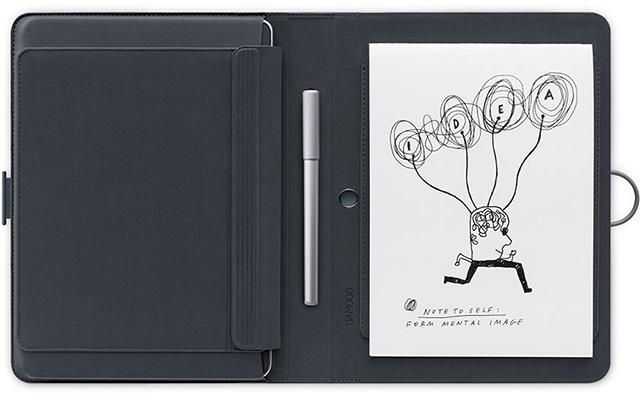 Блокнот и ручка Montblanc Augmented Paper