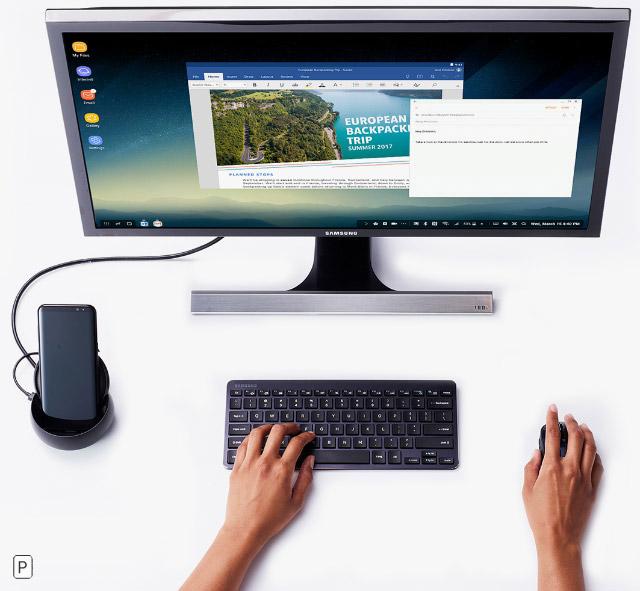 Samsung DeX – аксессуар, превративший смартфон в полноценный компьютер