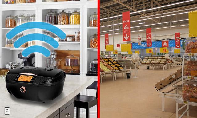 «Интернет вещей» и продуктовый ритейл: смарт-мультиварки REDMOND потеснят «Ашан»?
