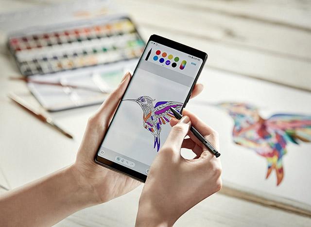S Pen – электронное перо, не имеющее аналогов. Инструмент для творчества и не только
