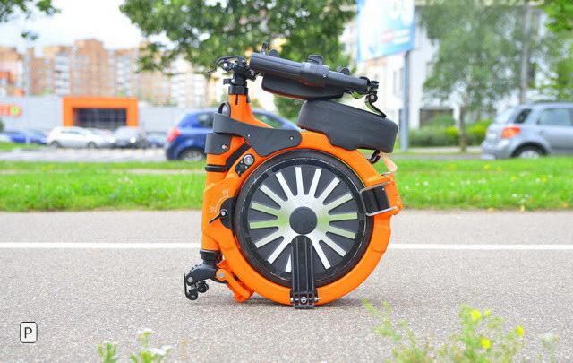 Современный городской электровелосипед Umka Bike Spb: легче, удобнее и безопаснее просто некуда. Кроме шуток