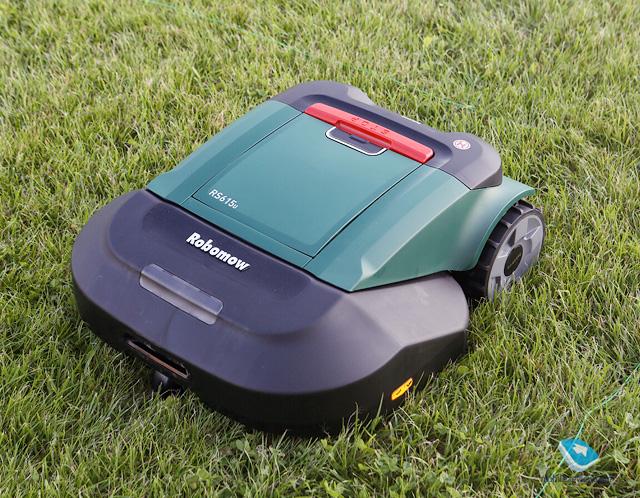 Бирюльки №445. Робот-газонокосильщик или потерявшийся робот