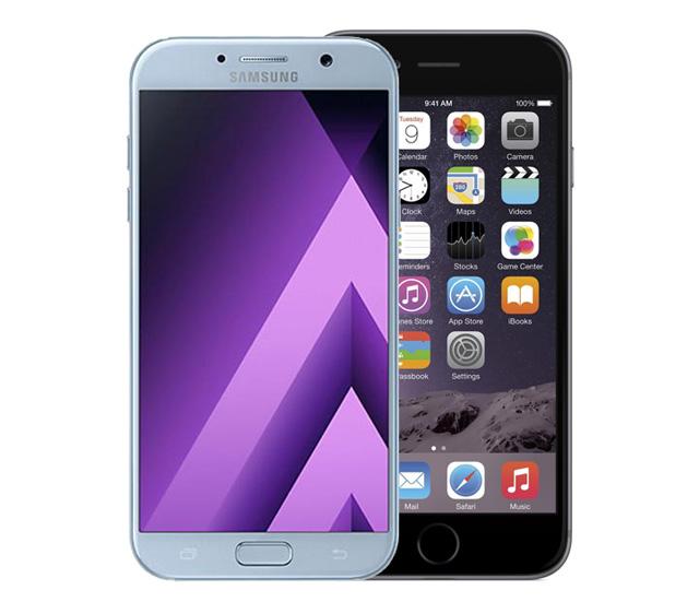 Гид покупателя. Сравниваем iPhone 6 Plus и Samsung Galaxy A7 2017