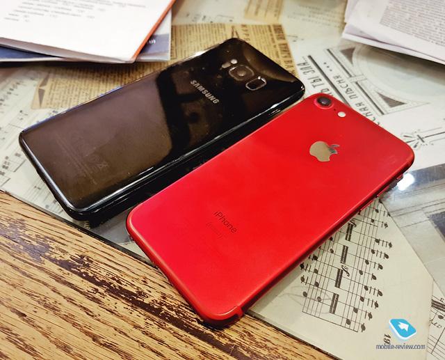 Гид покупателя. Сравнение iPhone 7 и Galaxy S8