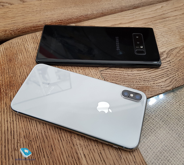 Гид покупателя. Сравнение Apple iPhone X и Samsung Galaxy Note 8