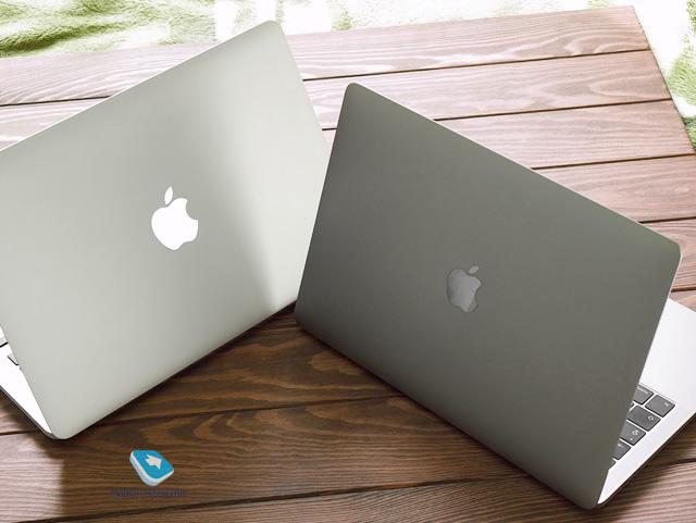 Сравнение MacBook Pro Retina 13 2017 и 2014 года