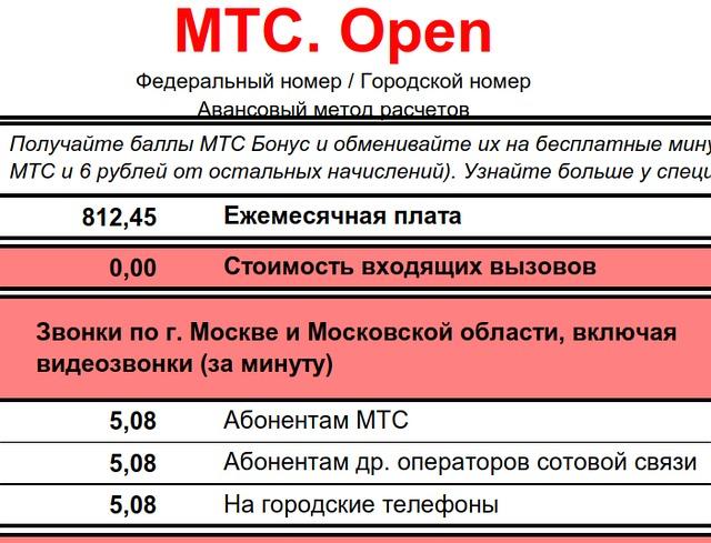 МТС закрывает архивные тарифы