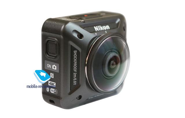Обзор спортивной панорамной камеры Nikon KeyMission 360