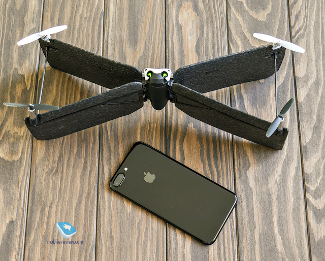 Обзор дрона Parrot Swing