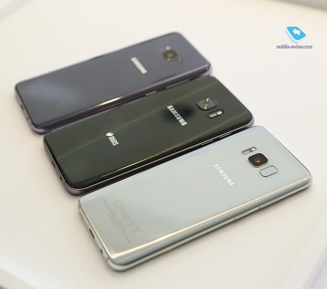 Mobile-review com Первый взгляд на Samsung Galaxy S8/S8+