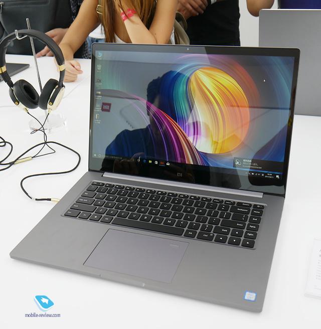 Xiaomi Mi Notebook Pro 15 6 Pervyj Vzglyad 12 Sentyabrya 2017